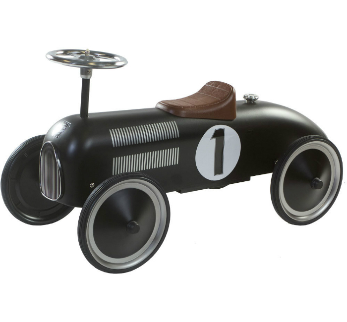Sparkbil Retro Racing Svart