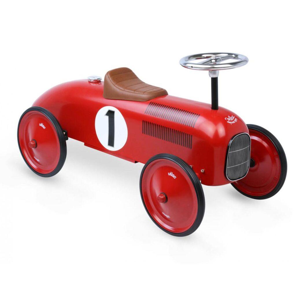 Sparkbil Vilac Racer Vintage, Röd