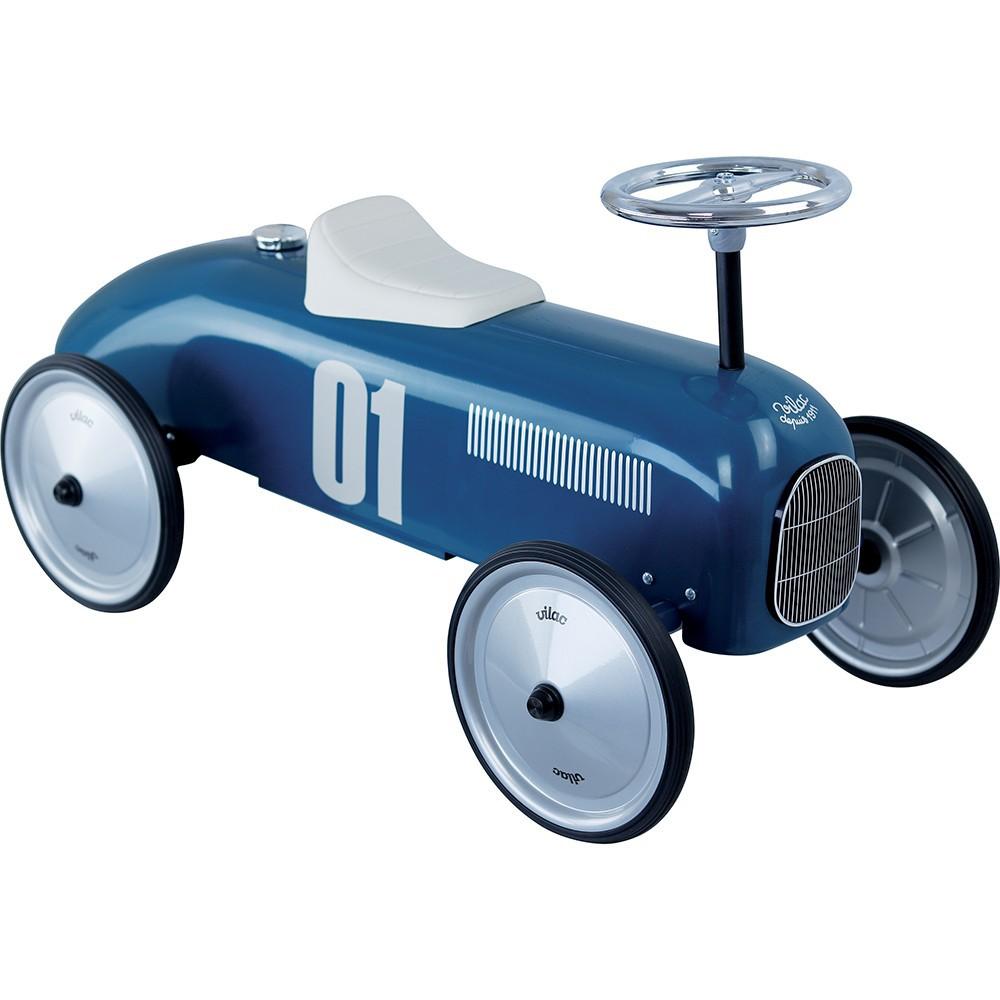 Sparkbil Vilac Racer Vintage, Blå